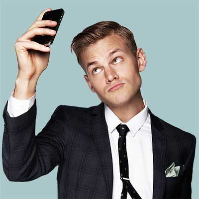Joel Creasey Hire Book Contact